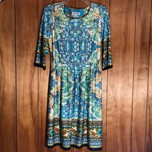 Shelby Palmer Sleeved Dress
